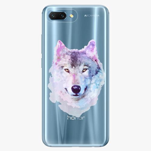 Silikonové pouzdro iSaprio - Wolf 01 na mobil Honor 10