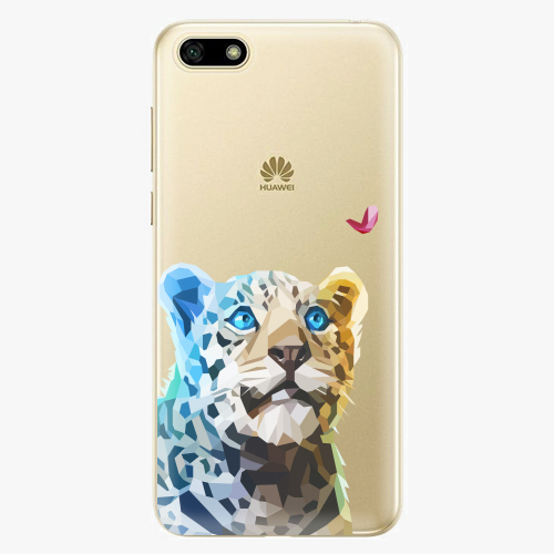 Silikonové pouzdro iSaprio - Leopard With Butterfly na mobil Huawei Y5 2018