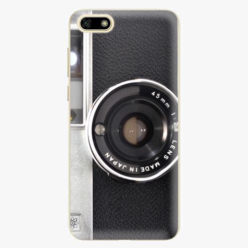 Silikonové pouzdro iSaprio - Vintage Camera 01 na mobil Huawei Y5 2018