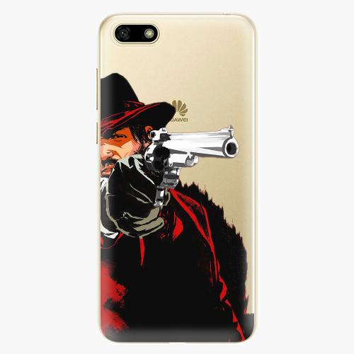 Silikonové pouzdro iSaprio - Red Sheriff na mobil Huawei Y5 2018