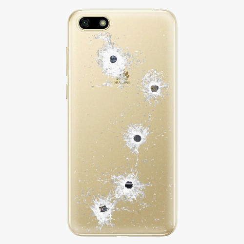 Silikonové pouzdro iSaprio - Gunshots na mobil Huawei Y5 2018