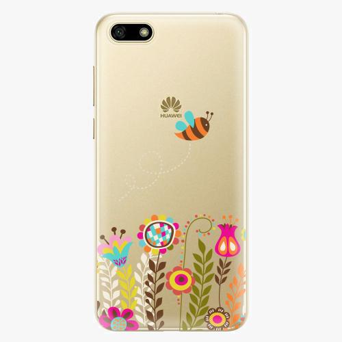 Silikonové pouzdro iSaprio - Bee 01 na mobil Huawei Y5 2018