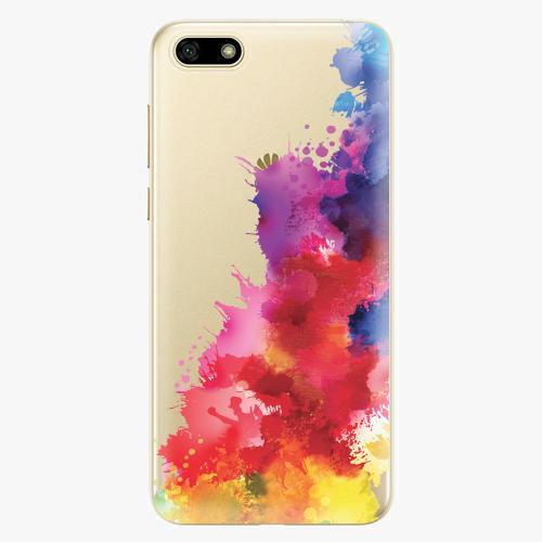 Silikonové pouzdro iSaprio - Color Splash 01 na mobil Huawei Y5 2018