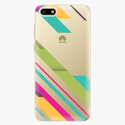 Silikonové pouzdro iSaprio - Color Stripes 03 na mobil Huawei Y5 2018
