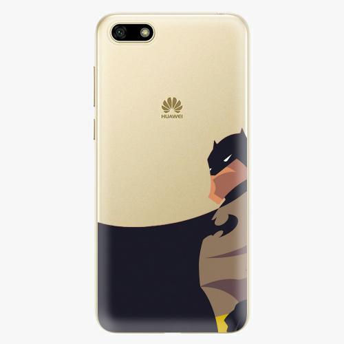 Silikonové pouzdro iSaprio - BaT Comics na mobil Huawei Y5 2018