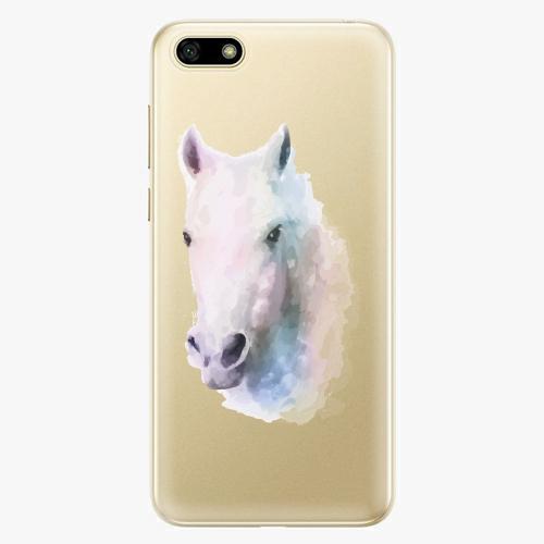 Silikonové pouzdro iSaprio - Horse 01 na mobil Huawei Y5 2018