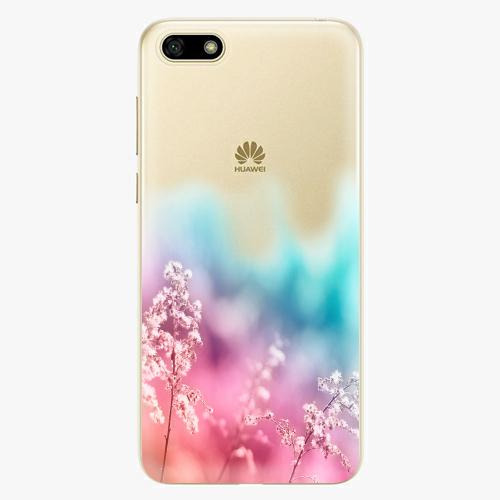 Silikonové pouzdro iSaprio - Rainbow Grass na mobil Huawei Y5 2018