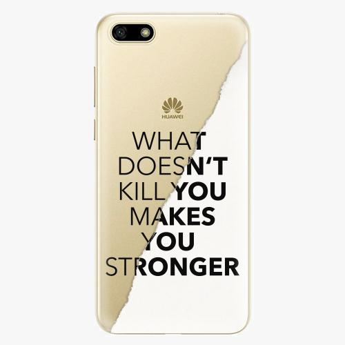 Silikonové pouzdro iSaprio - Makes You Stronger na mobil Huawei Y5 2018