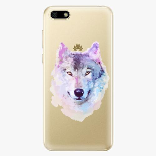Silikonové pouzdro iSaprio - Wolf 01 na mobil Huawei Y5 2018