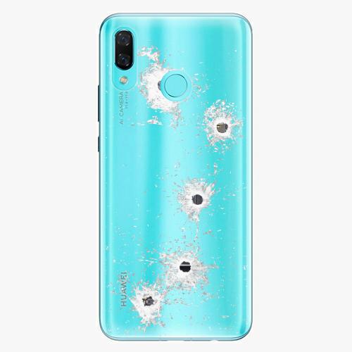 Silikonové pouzdro iSaprio - Gunshots na mobil Huawei Nova 3