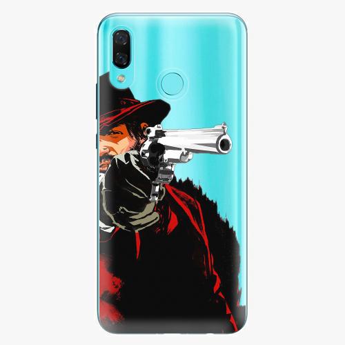 Silikonové pouzdro iSaprio - Red Sheriff na mobil Huawei Nova 3