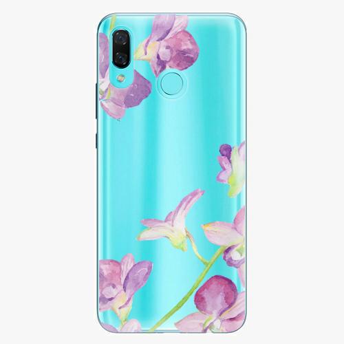 Silikonové pouzdro iSaprio - Purple Orchid na mobil Huawei Nova 3