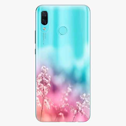 Silikonové pouzdro iSaprio - Rainbow Grass na mobil Huawei Nova 3