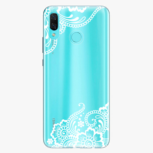 Silikonové pouzdro iSaprio - White Lace 02 na mobil Huawei Nova 3