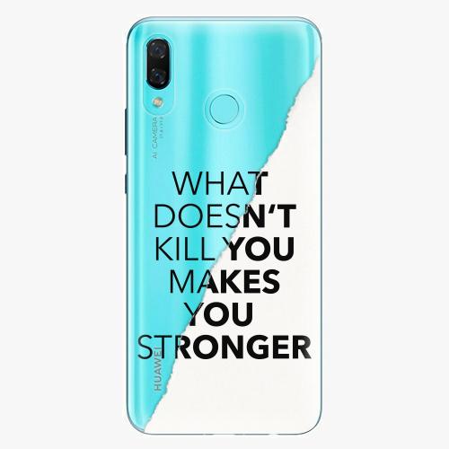 Silikonové pouzdro iSaprio - Makes You Stronger na mobil Huawei Nova 3
