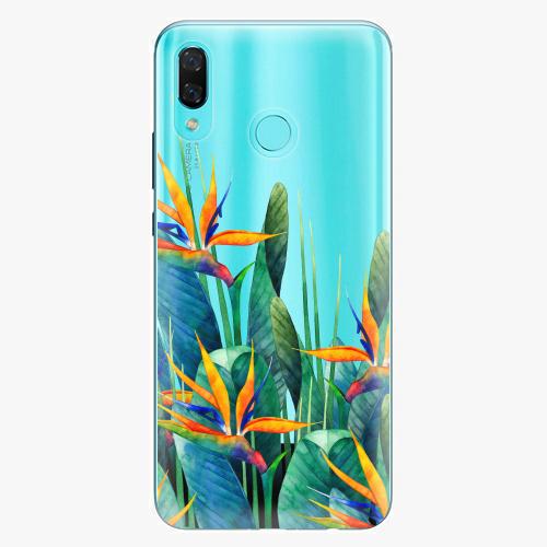Silikonové pouzdro iSaprio - Exotic Flowers na mobil Huawei Nova 3
