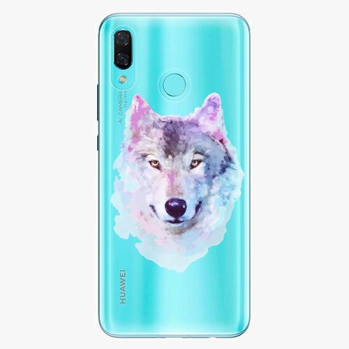 Silikonové pouzdro iSaprio - Wolf 01 na mobil Huawei Nova 3