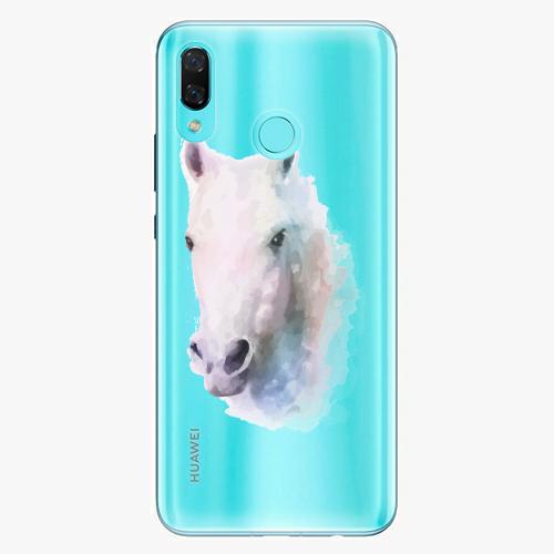 Silikonové pouzdro iSaprio - Horse 01 na mobil Huawei Nova 3
