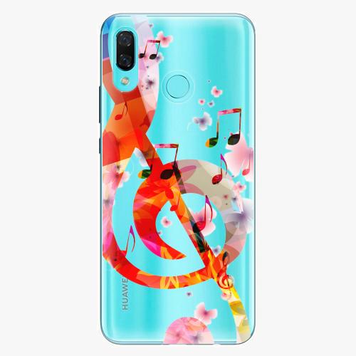 Silikonové pouzdro iSaprio - Music 01 na mobil Huawei Nova 3
