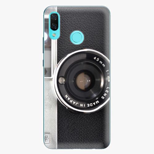Silikonové pouzdro iSaprio - Vintage Camera 01 na mobil Huawei Nova 3