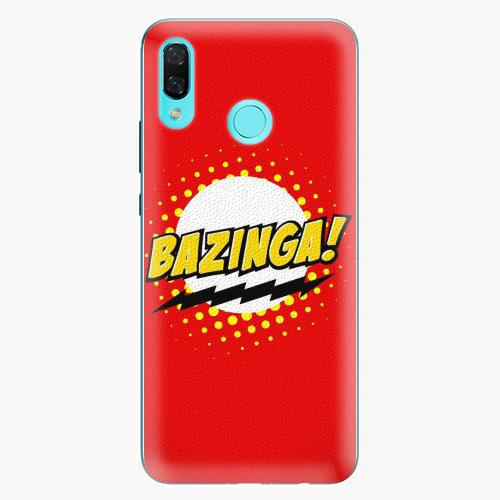 Silikonové pouzdro iSaprio - Bazinga 01 na mobil Huawei Nova 3