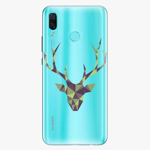 Silikonové pouzdro iSaprio - Deer Green na mobil Huawei Nova 3