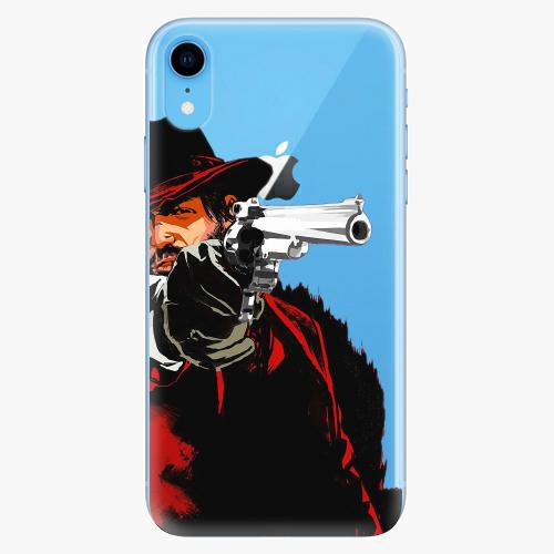 Silikonové pouzdro iSaprio - Red Sheriff na mobil Apple iPhone XR