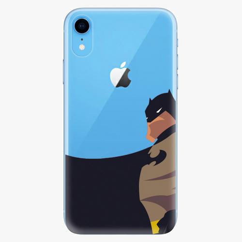 Silikonové pouzdro iSaprio - BaT Comics na mobil Apple iPhone XR