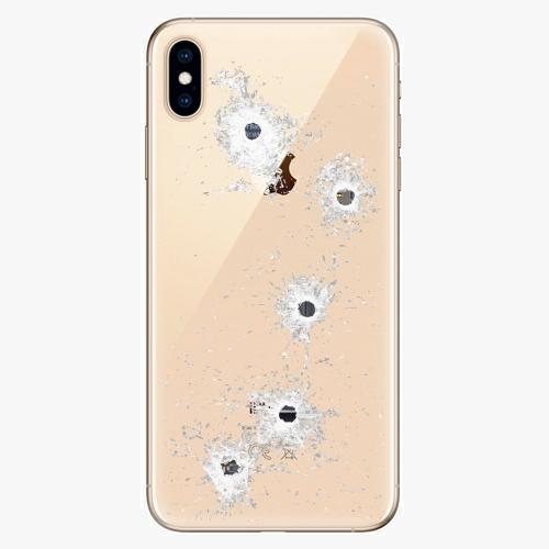 Silikonové pouzdro iSaprio - Gunshots na mobil Apple iPhone XS Max