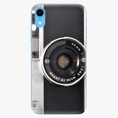 Silikonové pouzdro iSaprio - Vintage Camera 01 na mobil Apple iPhone XR