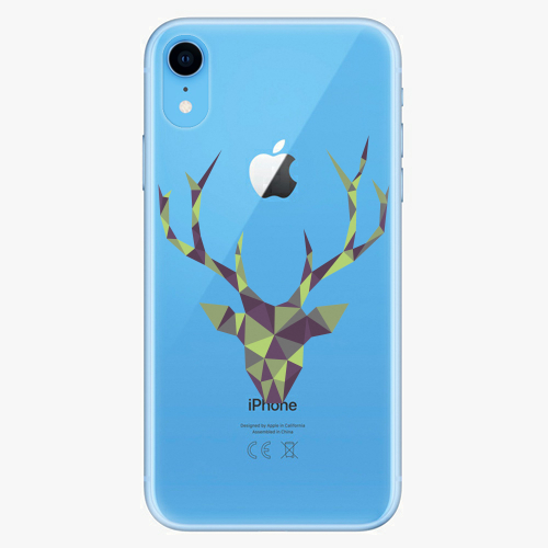 Silikonové pouzdro iSaprio - Deer Green na mobil Apple iPhone XR