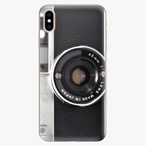 Silikonové pouzdro iSaprio - Vintage Camera 01 na mobil Apple iPhone XS Max