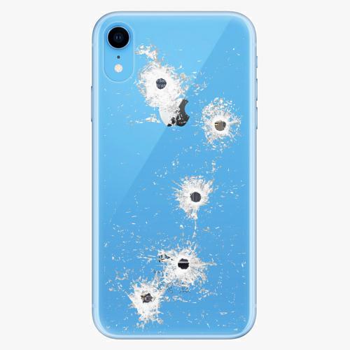 Silikonové pouzdro iSaprio - Gunshots na mobil Apple iPhone XR