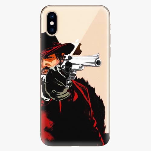 Silikonové pouzdro iSaprio - Red Sheriff na mobil Apple iPhone XS