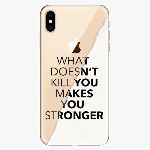 Silikonové pouzdro iSaprio - Makes You Stronger na mobil Apple iPhone XS Max