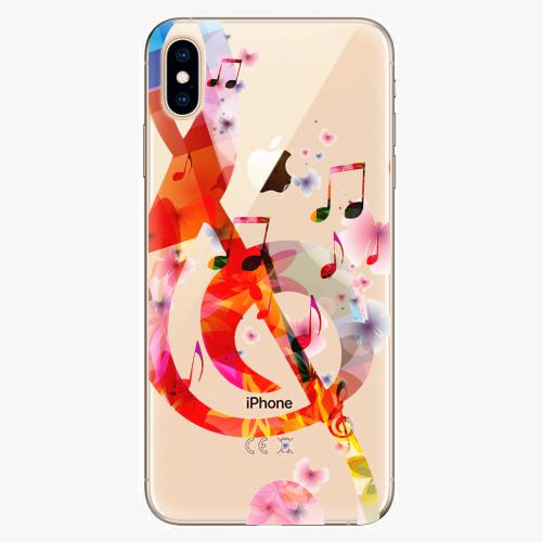 Silikonové pouzdro iSaprio - Music 01 na mobil Apple iPhone XS Max
