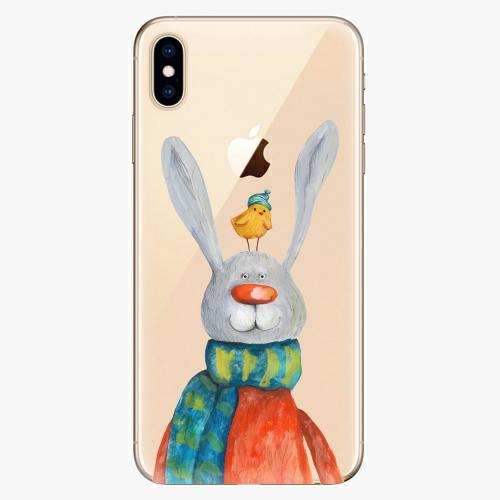 Silikonové pouzdro iSaprio - Rabbit And Bird na mobil Apple iPhone XS Max