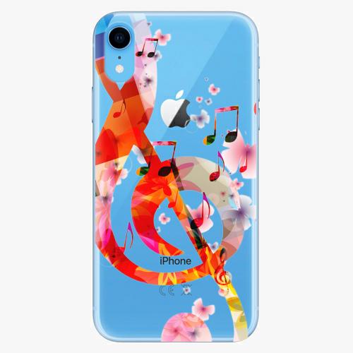 Silikonové pouzdro iSaprio - Music 01 na mobil Apple iPhone XR