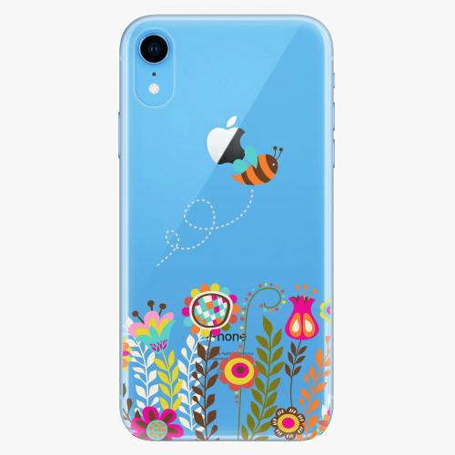 Silikonové pouzdro iSaprio - Bee 01 na mobil Apple iPhone XR