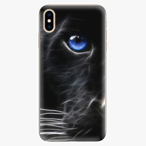 Silikonové pouzdro iSaprio - Black Puma na mobil Apple iPhone XS Max
