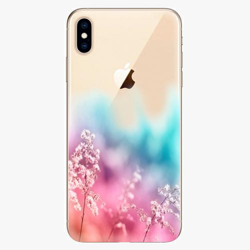 Silikonové pouzdro iSaprio - Rainbow Grass na mobil Apple iPhone XS Max