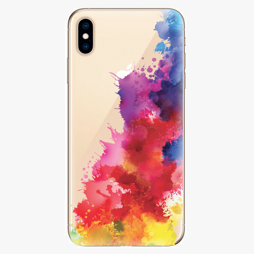 Silikonové pouzdro iSaprio - Color Splash 01 na mobil Apple iPhone XS Max