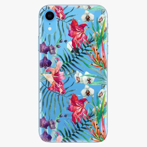 Silikonové pouzdro iSaprio - Flower Pattern 03 na mobil Apple iPhone XR