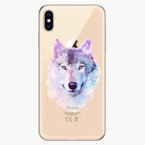 Silikonové pouzdro iSaprio - Wolf 01 na mobil Apple iPhone XS Max