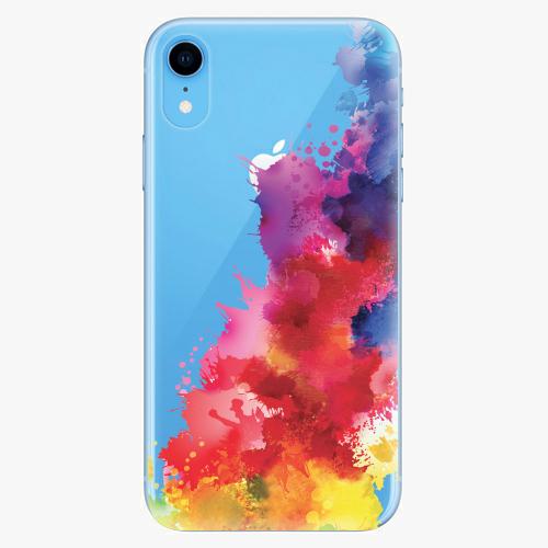 Silikonové pouzdro iSaprio - Color Splash 01 na mobil Apple iPhone XR
