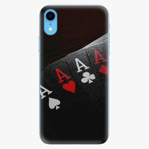 Silikonové pouzdro iSaprio - Poker na mobil Apple iPhone XR
