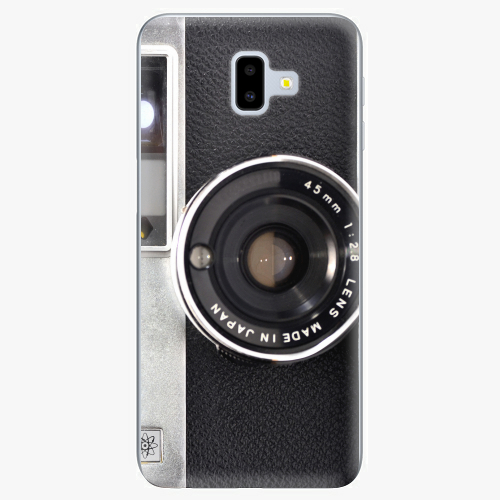 Silikonové pouzdro iSaprio - Vintage Camera 01 na mobil Samsung Galaxy J6 Plus