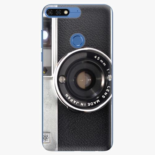 Silikonové pouzdro iSaprio - Vintage Camera 01 na mobil Honor 7C