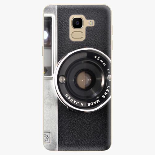 Silikonové pouzdro iSaprio - Vintage Camera 01 na mobil Samsung Galaxy J6