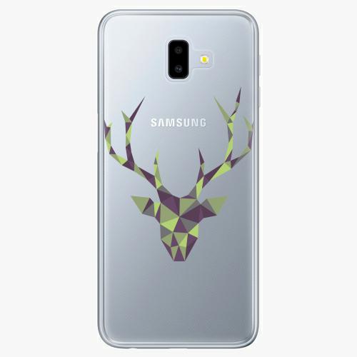 Silikonové pouzdro iSaprio - Deer Green na mobil Samsung Galaxy J6 Plus